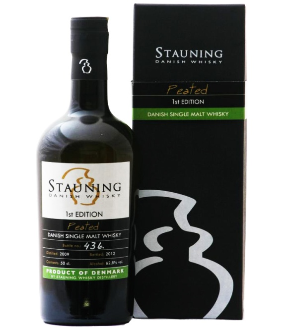 Stauning Peated 1st Edition Danish single malt whisky