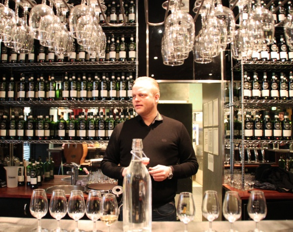 Terje Thesbjerg at the SMWS in Vejle, Denmark